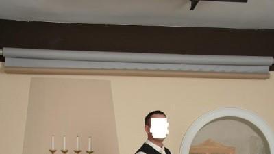 suknia ślubna rozm 44 ecri