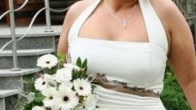 Suknia ślubna rozm. 48