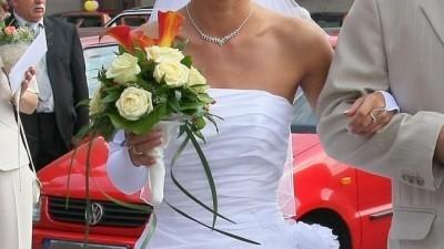 suknia ślubna rozmiar 34-36