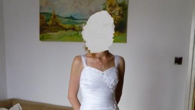 suknia ślubna rozmiar 34/36 stan bardzo dobry!!!