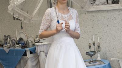 Suknia ślubna rozmiar 38 40 42  Nowa cena