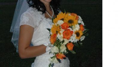 Suknia ślubna rozmiar 38 z bolerkiem