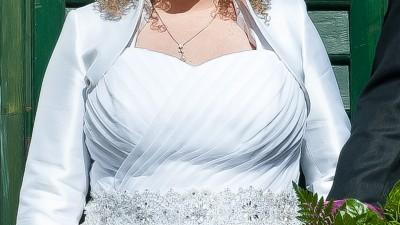 suknia ślubna rozmiar 46 (xxl) princessa welon gratis!
