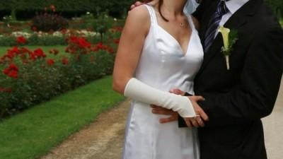 suknia slubna-rybka