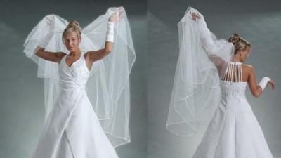 Suknia ślubna SARAH+dodatki oraz kamizelka dla Pana Młodego