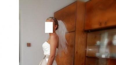 SUKNIA ŚLUBNA SINCERITY BRIDAL 3518 + DODATKI