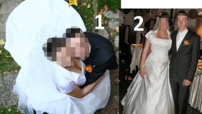 Suknia ślubna Sincerity gorset tren biała S-XL