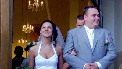 Suknia ślubna śnieżnobiała jednoczęściowa 2008