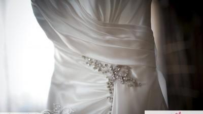 Suknia ślubna Sophia Tolli Y11102 Leighanna 36/38 Diamond White