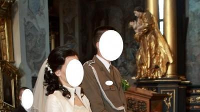 Suknia ślubna SPOSA na osobę o 170-176cm wzrostu+obcas