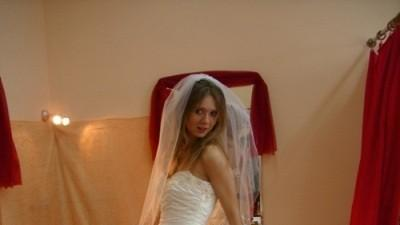 suknia slubna sposabella 635 ecru Nowa