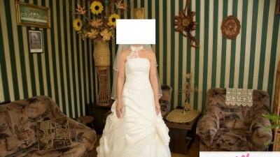 Suknia ślubna Sposbella ecru