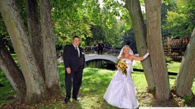 suknia ślubna-sprzedam tanio:)