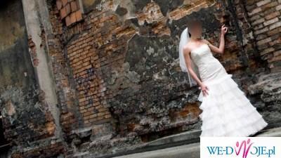 Suknia Ślubna SWAROVSKI/BOLERKO/WELON/BUTY