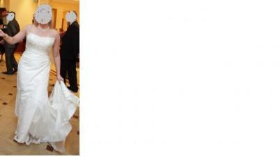 Suknia ślubna Sweetheart model 5841 ecru
