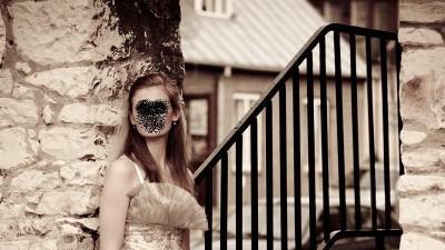 suknia ślubna syrena ecru