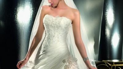Suknia Ślubna szyta na wzór Demetrios 974