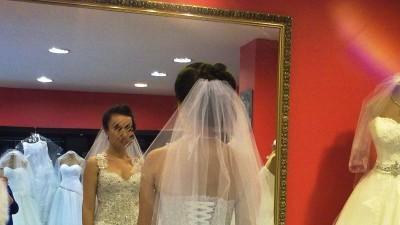 """Suknia ślubna typ ,,Księżniczka"""" - salon Clarisse Siedlce"""