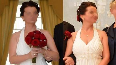Suknia ślubna typu greckiego