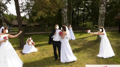 Suknia ślubna VANESSA rozm.38 - śliczna Radom - WAWA
