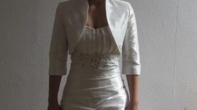 Suknia Ślubna Visual Chris roz. 38 wraz z bolerkiem i halka