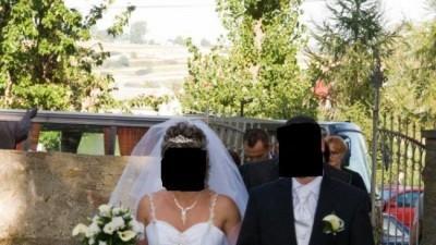 Suknia ślubna w idealnym stanie, biała, 40/42 + gratisy!!!