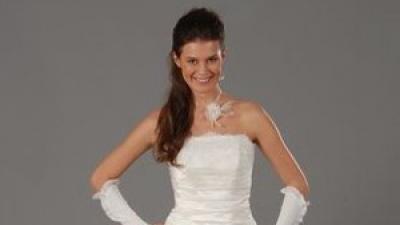 Suknia ślubna w kształcie literki A