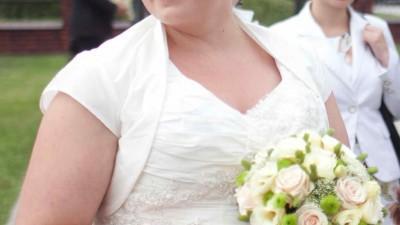 Suknia ślubna w roz. 50-52