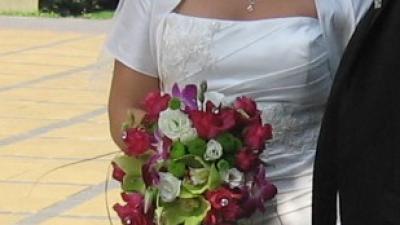 Suknia ślubna w rozmiarze 42-46