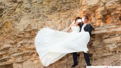 Suknia Ślubna w stylu greckim/ grecka- DORISEL