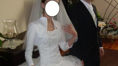 Suknia ślubna w stylu vanessa 1011