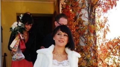 Suknia ślubna w stylu VINTAGE ecru 38/40