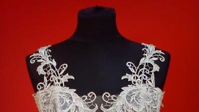 suknia ślubna wanilia