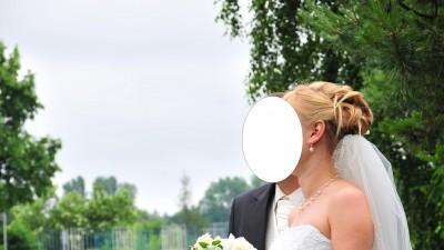 Suknia Ślubna + welon + bolerko+ torebeczka+ biżuteria