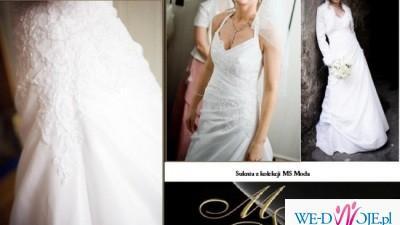 Suknia ślubna + welon GRATIS !!!