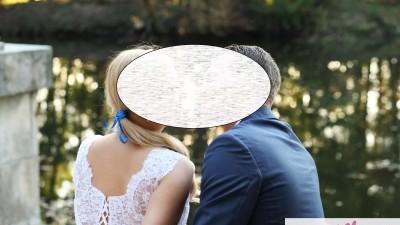Suknia ślubna + welon+ szal