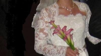 Suknia ślubna White One 176 + dodatki