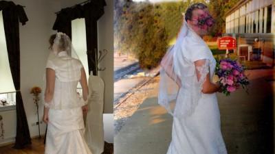 Suknia ślubna White One 176 - rozmiar 40+2 bolerka+buty