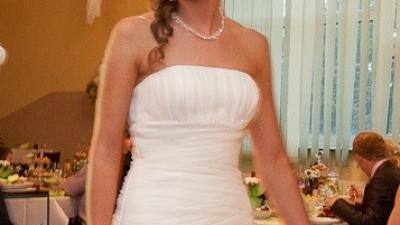 Suknia ślubna White One 6209, roz. 38