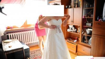 SUKNIA ŚLUBNA WINGS BRIDAL model SHELBY cena 500zł