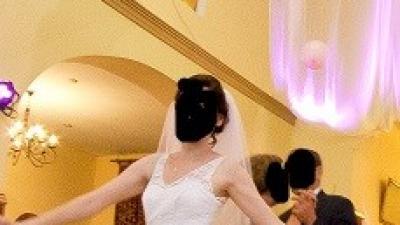 Suknia ślubna własnego projektu