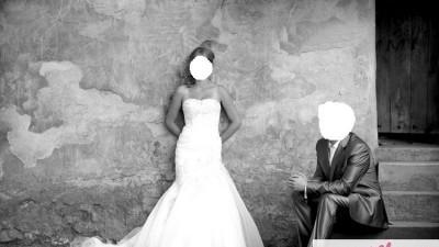 """Suknia Ślubna Włoskiej Kolekcji   """"Justin Alexander"""""""