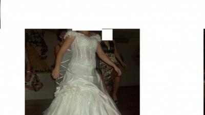 Suknia ślubna wzór Hiszpański