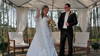 suknia ślubna wzór makara