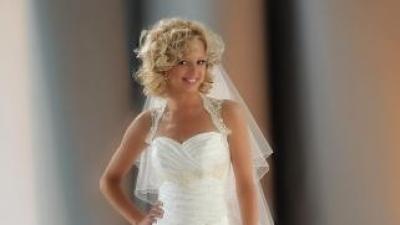 Suknia ślubna z bolerkiem 38/40 wzrost 176 cm Wieluń - TANIO