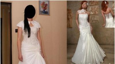 Suknia ślubna z bolerkiem EMMI MARIAGE