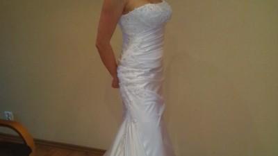 Suknia ślubna z Diany + buty