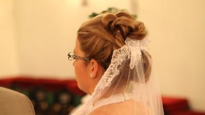 Suknia ślubna z firmy ASPERA z kryształkami SWAROVSKIEGO