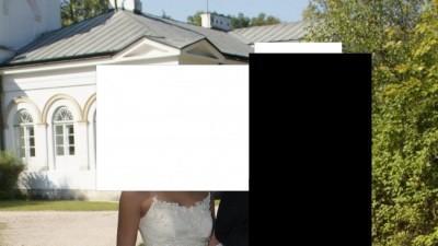 Suknia Ślubna z firmy LA CASADA, model Maja, cena 1000zł