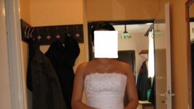 Suknia ślubna z kolekcji 2008 :)